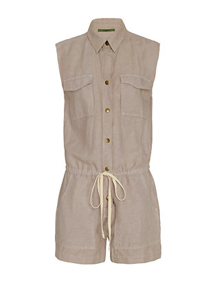 Enza Costa EXCLUSIVE Cargo Romper