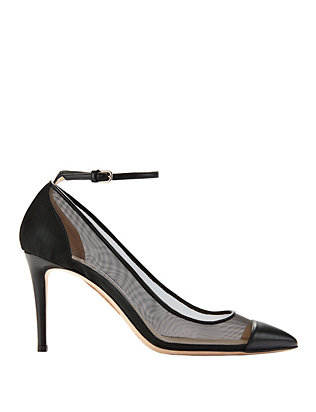 Tower Ankle Strap Pumps
