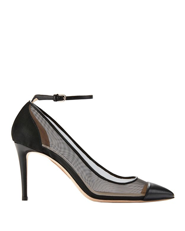Jimmy Choo Tower Ankle Strap Pumps