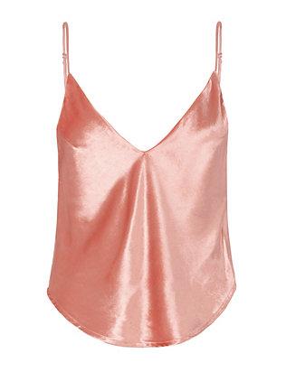 Flamingo Velvet Cami