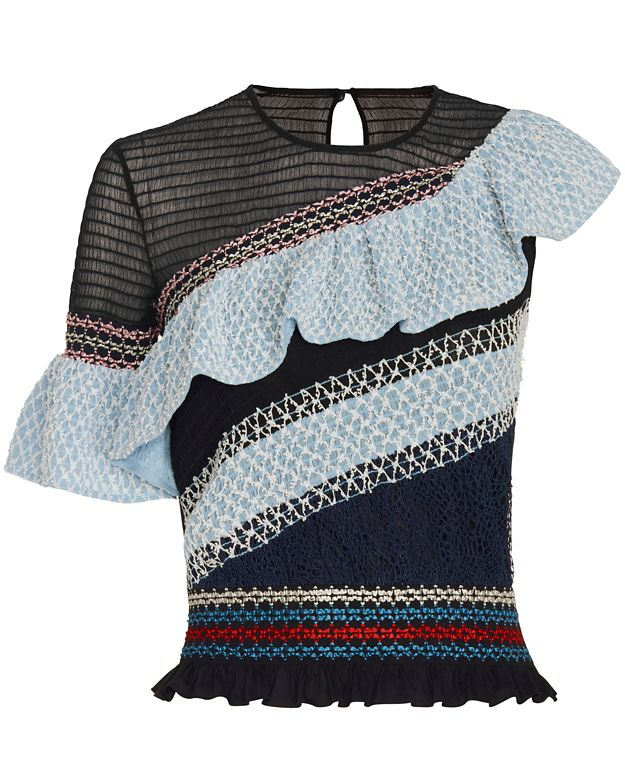 Peter Pilotto Octave One Shoulder Top