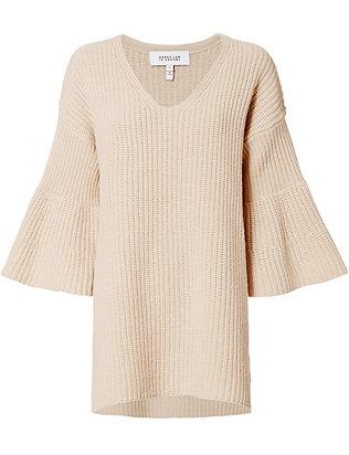 V-Neck Knit Tunic