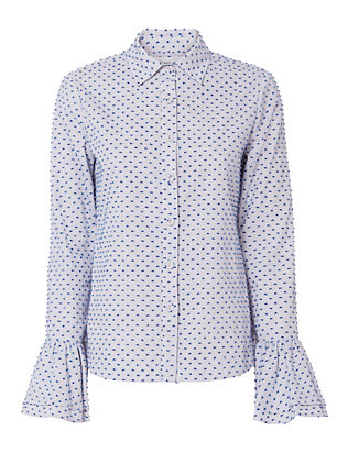 Derek Lam 10 Crosby Clipped Shirt