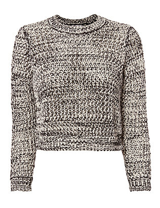 Derek Lam 10 Crosby Marled Ring Detail Knit