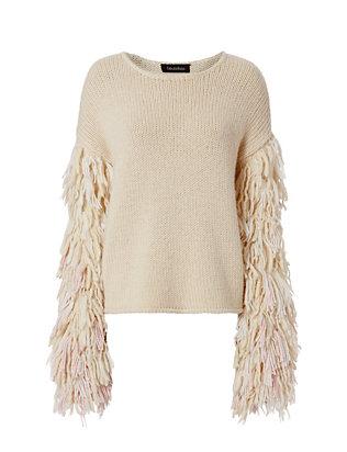 Karash Fringe Sleeve Sweater