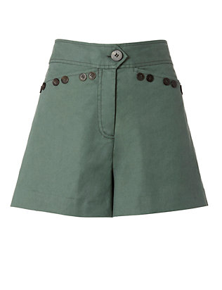 Derek Lam 10 Crosby Army Sailor Shorts