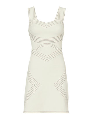 Derek Lam 10 Crosby Topstitching Dress