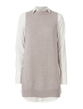 Brochu Walker Violet Layered Sweater Dress