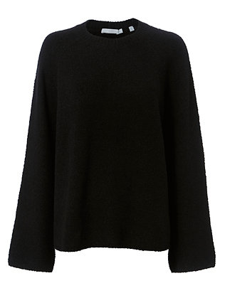 Vince Nubby Raglan Sleeve Sweater