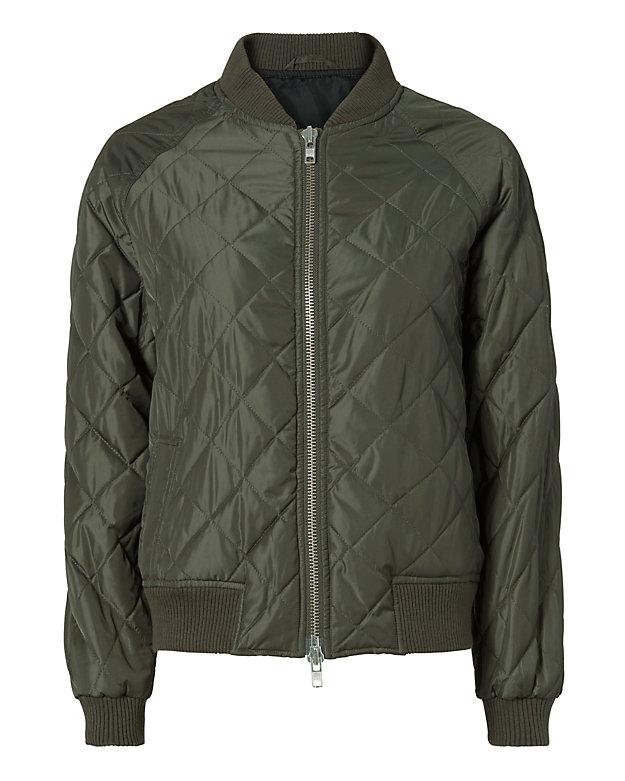Vince Quilted Bomber Jacket Shop Intermixonline Com