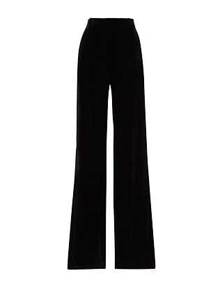 Vince Soft Velvet Wide Leg Trousers