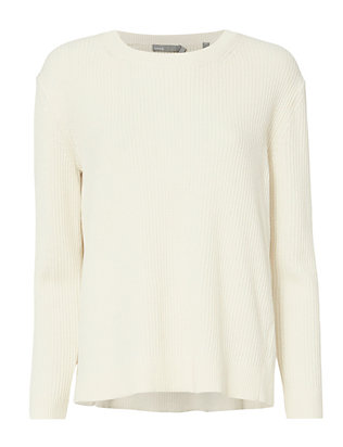 Vince Slit Back Sweater