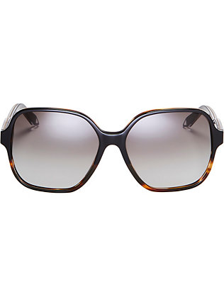 Victoria Beckham Iconic Oversized Square Sunglasses