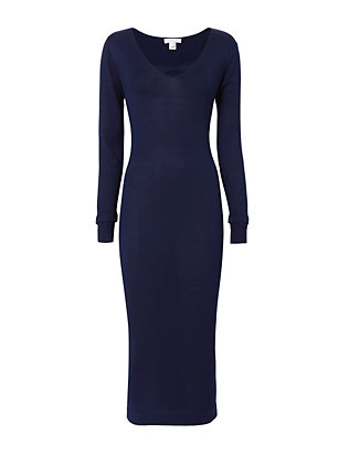 Intropia Knit Midi Dress