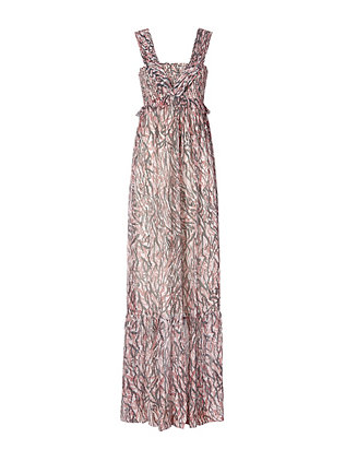 Intropia Animal Print Maxi Dress
