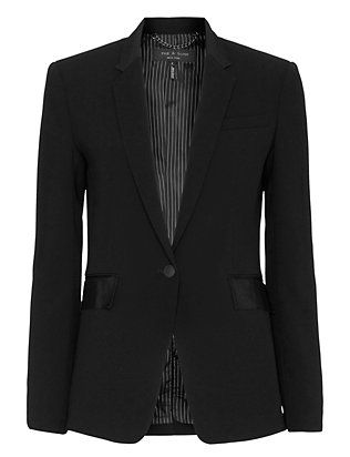 Rag & Bone Windsor Notched Lapel Blazer