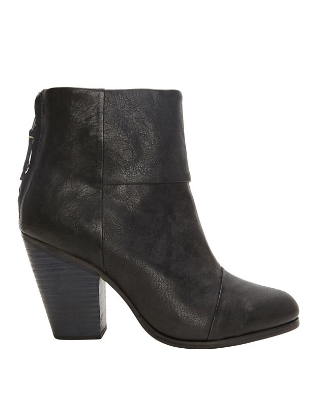 Rag & Bone Classic Newbury Booties: Black