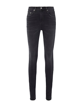 Rag & Bone/JEAN Clean Steele Dive Grey Patch Pocket Skinny