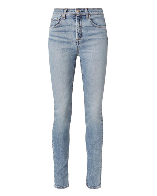 Rag & Bone/JEAN Freemont Dive High-Rise Skinny Jeans