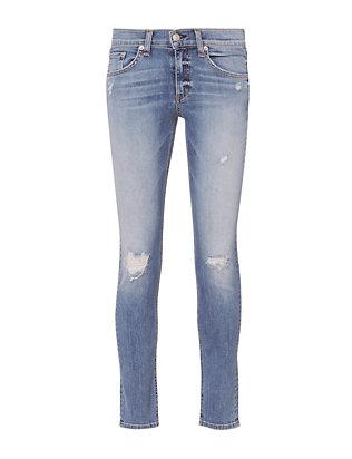 Gunner Rip Capri Jeans