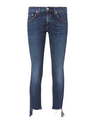 Rag & Bone/JEAN Hampton Distressed Skinny Jeans