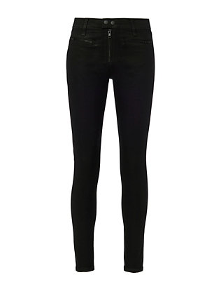 Rag & Bone/JEAN Coated Black Ryder