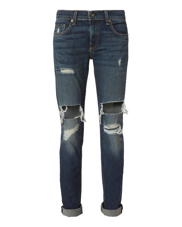 Rag & Bone/JEAN Dre Mission Deconstructed Jeans
