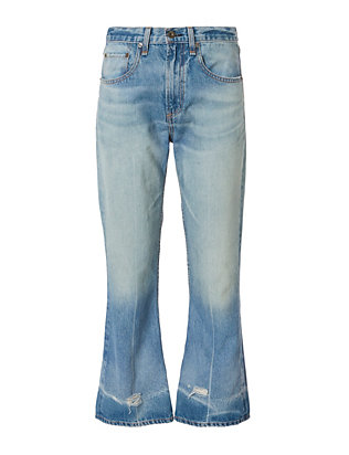 Vale Crop Flare Jeans