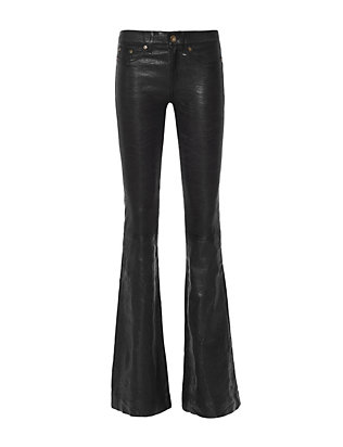 Rag & Bone/JEAN Leather Bell: Black