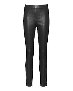 rag & bone/JEAN Georgie Leather Pant: Black