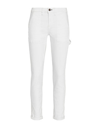 Rag & Bone/JEAN Dre Aged Carpenter: Bright White