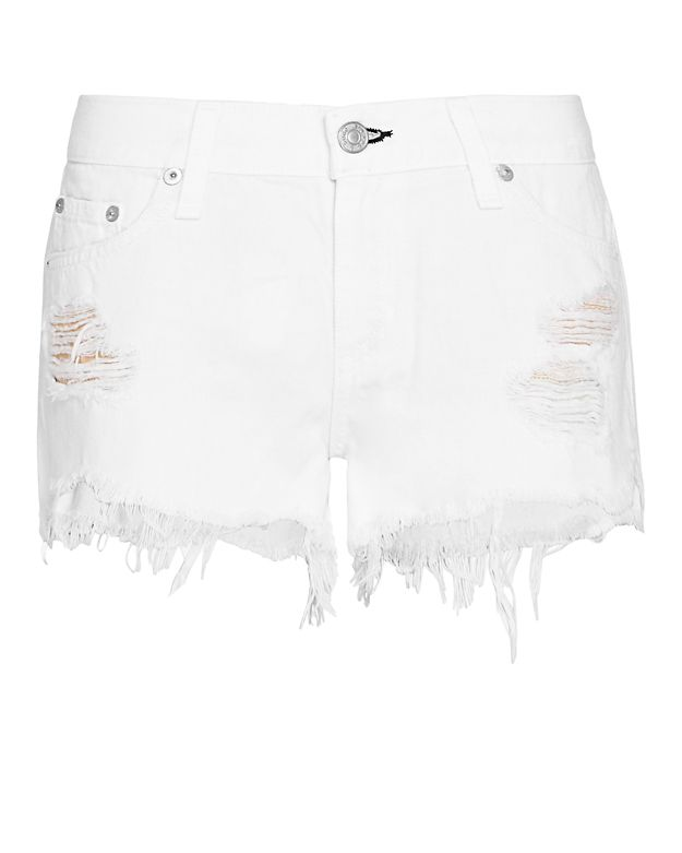 Rag & Bone/JEAN Marin Rip Cut Off Short