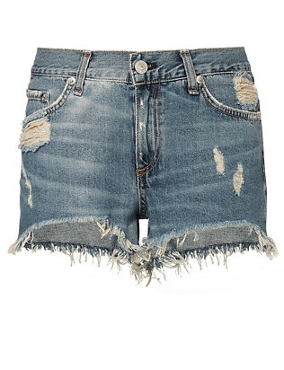 Rag & Bone/JEAN Winnie Cut Off Denim Shorts
