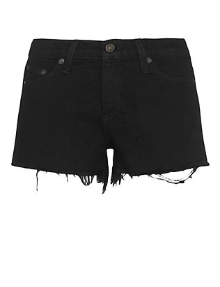 Rag & Bone/JEAN Coal Cut Offs: Black