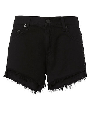 Rag & Bone/JEAN Studded Cut Off Shorts