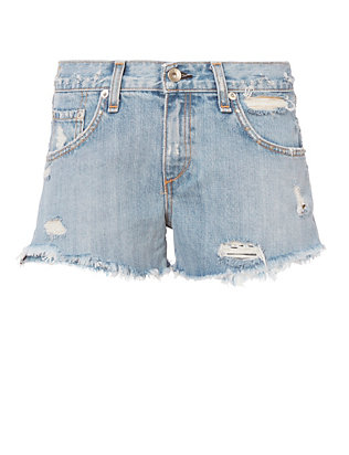 Avenida Studded BF Cut Off Shorts