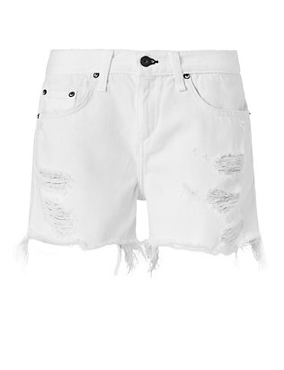 Rag & Bone/JEAN EXCLUSIVE Dixon Short: White