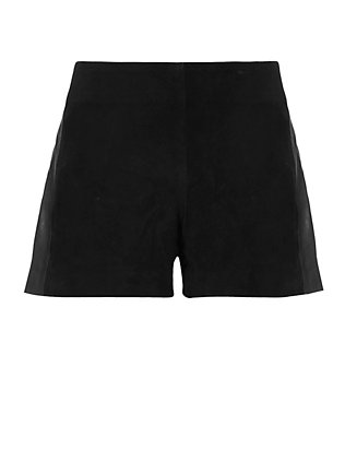 Georgie Suede Shorts