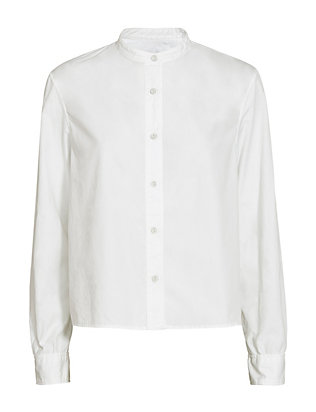 rag & bone Leeds Crop Button-Down Shirt