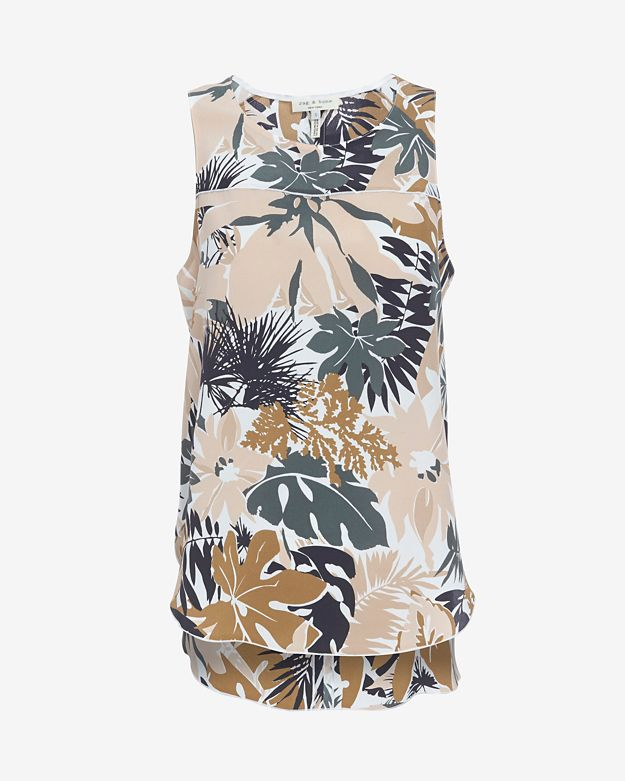 online-only 		 	 	 	 	 	rag-&-bone-patricia-spruce-print-top by rag-&-bone