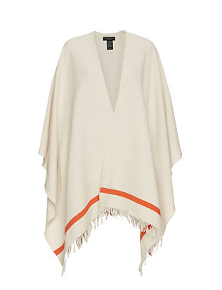 Rag & Bone Ines Striped Poncho