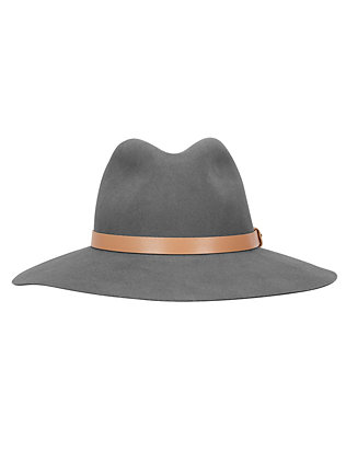 Rag & Bone Wide Brim Fedora: Grey
