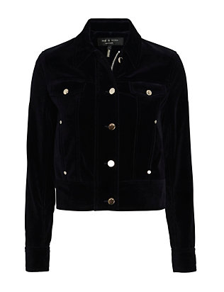 Rag & Bone Ziggy Velvet Jacket