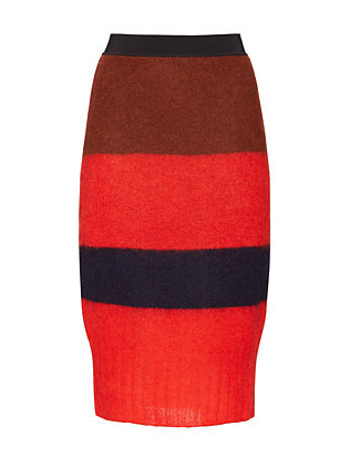 Rag & Bone Petra Striped Pencil Skirt