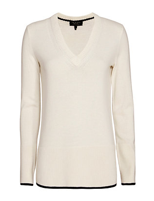 Rag & Bone Flavia V Neck