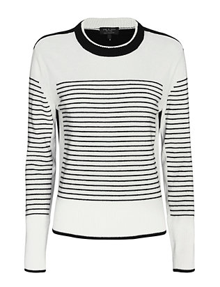 Rag & Bone Masie Striped Cashmere Sweater