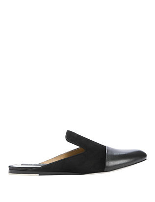 rag & bone Sabine Flat Slip-On Loafer: Black