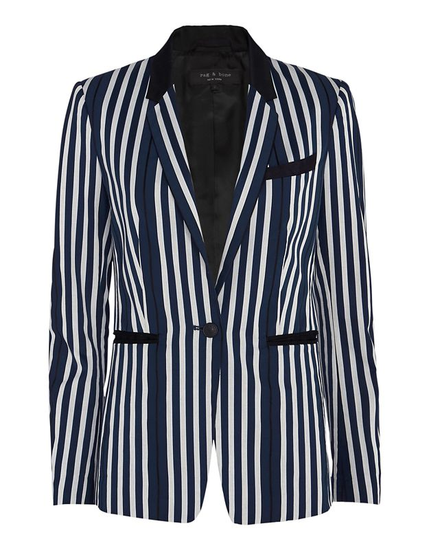 Rag & Bone Windsor Striped Blazer