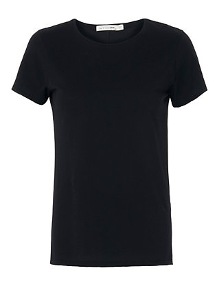 Rag & Bone/JEAN Base Layer Crew Tee: Black