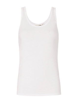 Base Layer Tank: White